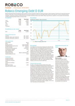 Robeco Emerging Debt D EUR