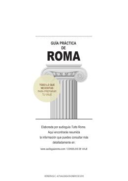 guía práctica roma