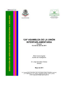 124ª ASAMBLEA DE LA UNIÓN INTERPARLAMENTARIA Panamá