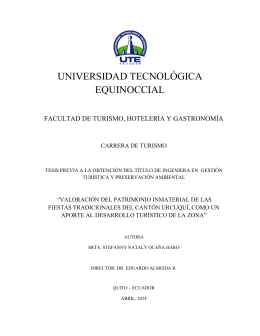 Repositorio Digital UTE - Universidad Tecnológica Equinoccial
