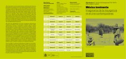 Folleto del ciclo - Museo Nacional Centro de Arte Reina Sofía