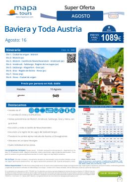 Baviera y Toda Austria