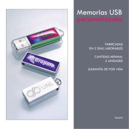 Memorias USB - Regalos de empresa