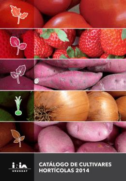 Catálogo de cultivares hortículas 2014