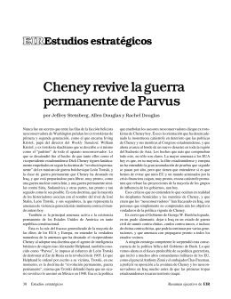 30 Cheney revive la guerra permanente de Parvus por Jeffrey