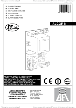 ALCOR N - confort