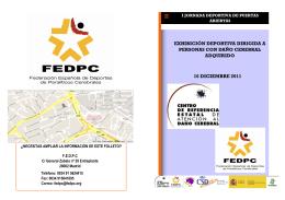 DIPTICO ACTIVIDAD DEPORTIVA CEADAC FEDPC