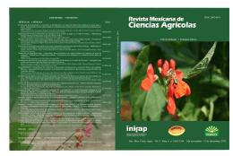 Vol.3 Núm. 6 - Instituto Nacional de Investigaciones Forestales