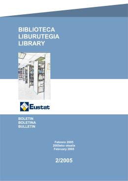 Boletín Biblioteca: Febrero 2005