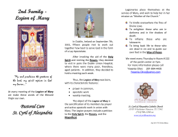 Brochure - (Folleto) - St. Cyril of Alexandria