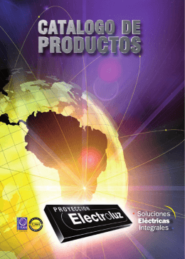 descargar Catálogo de Productos en formato PDF