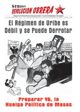 Órgano de la Unión Obrera Comunista