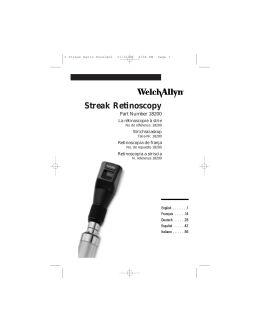 Streak Retinoscopy Multi Language