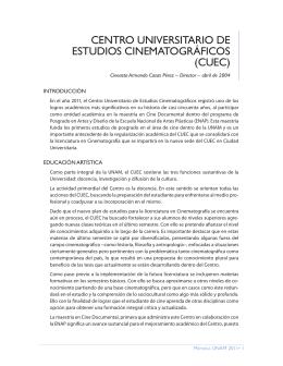 cuec - Dirección General de Planeación