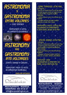 ASTRONOMIA ASTRONOMY