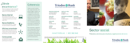 Sector social - Triodos Bank