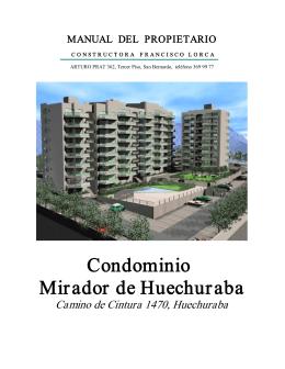 Condominio Mirador de Huechuraba