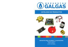 Catálogo - REPUESTOS GALGAS