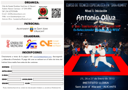 organiza - Club Karate Shotokan Sant Joan