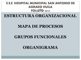 Diapositiva 1 - ESE Hospital San Antonio Agrado