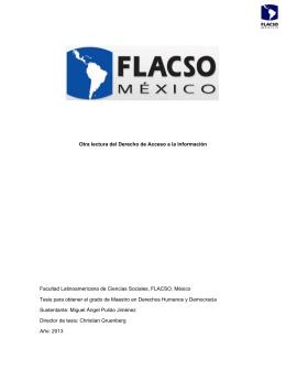 View/Open - Flacso México