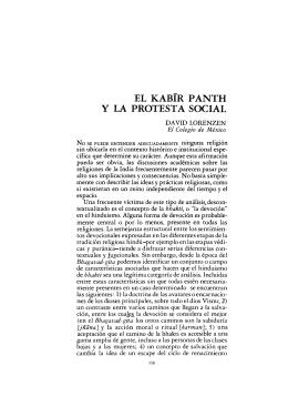 el kabir panth y la protesta social