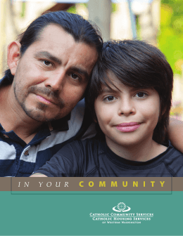 community - Catholic Community Services of Western Washington
