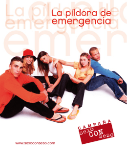 "Descargar Folleto ""La píldora de emergencia"""