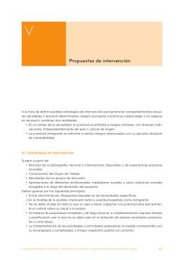 5. Propuestas de intervención (114 Kb.)