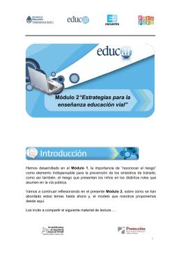 Módulo II Educación Vial