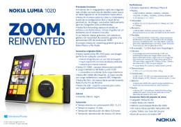 (Microsoft PowerPoint - Nokia Lumia 1020 Ficha T\351cnica)