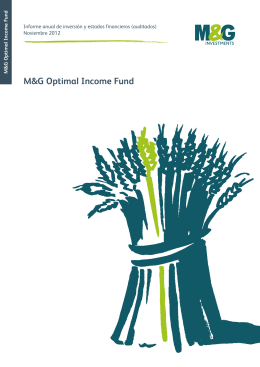 M&G Optimal Income Fund