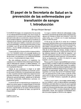 El papel de la Secretaría de Salud en la prevención de las