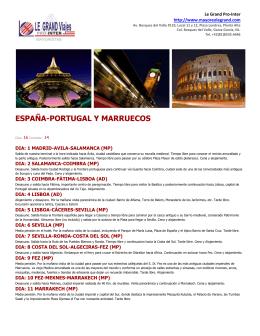 ESPAÑA-PORTUGAL Y MARRUECOS