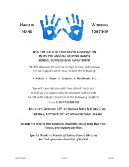 hand in working hand together join the vallejo education association