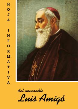 La Hoja Informativa del Venerable P. Luis Amigó