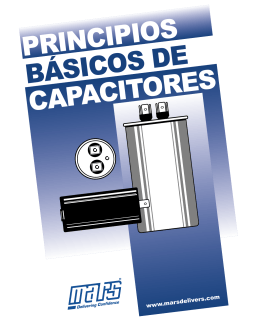 Principios básicos de capacitores