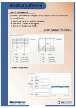 Biodata Software - medusa