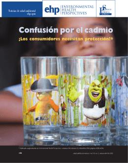 Confusión por el cadmio