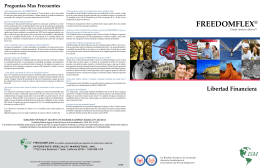 Guía FredomFlex en español