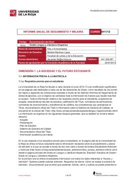603G Informe de seguimiento 20112012 GLLH