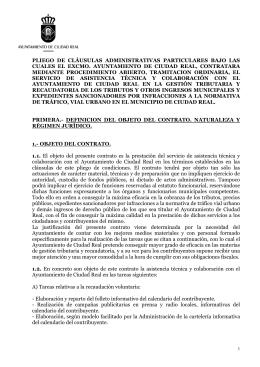 informe que emite la comisión técnica sobre valoración de los