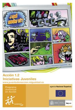 Acción 1.2 Iniciativas Juveniles