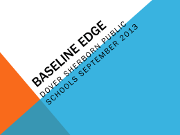 Baseline edge - Dover-Sherborn District Home