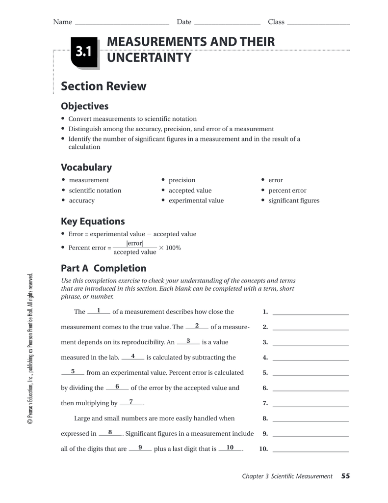 worksheet Scientific Measurement Worksheet precision and accuracy worksheet garciniapremiums answers laveyla com