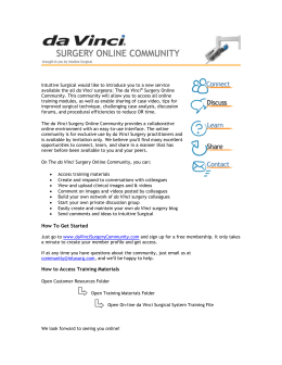 ISI Online Community System Training