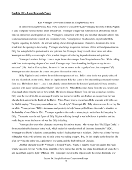 English 102 – Long Research Paper