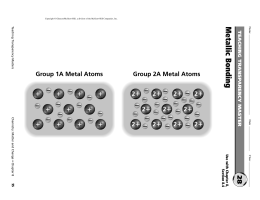 07 Practice: Metallic Bonding (key)