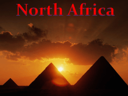 Cultures of North Africa
