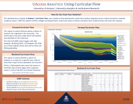 University of Arizona | University Analytics